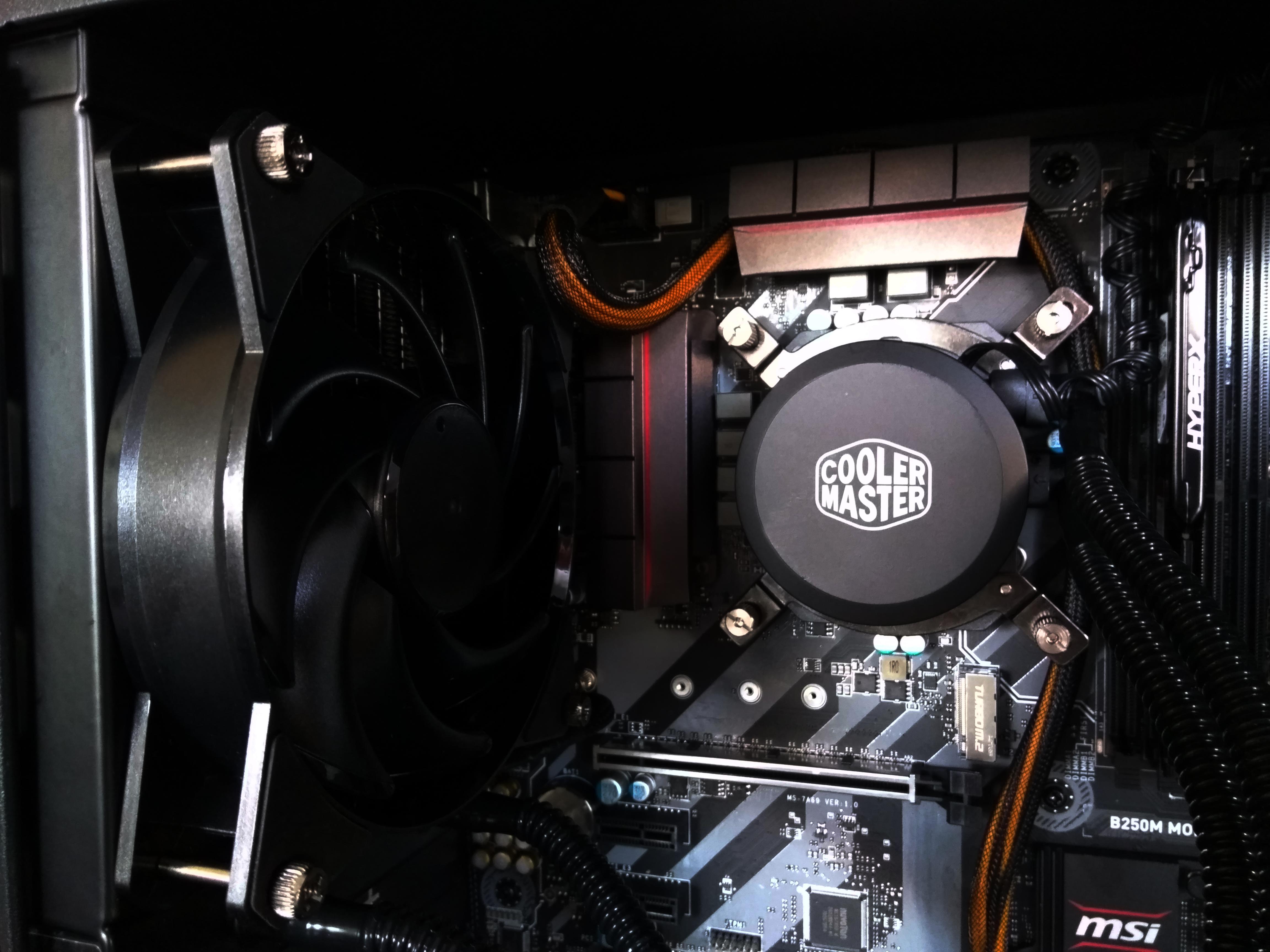 Workstation i5-7400-8GB-250GB