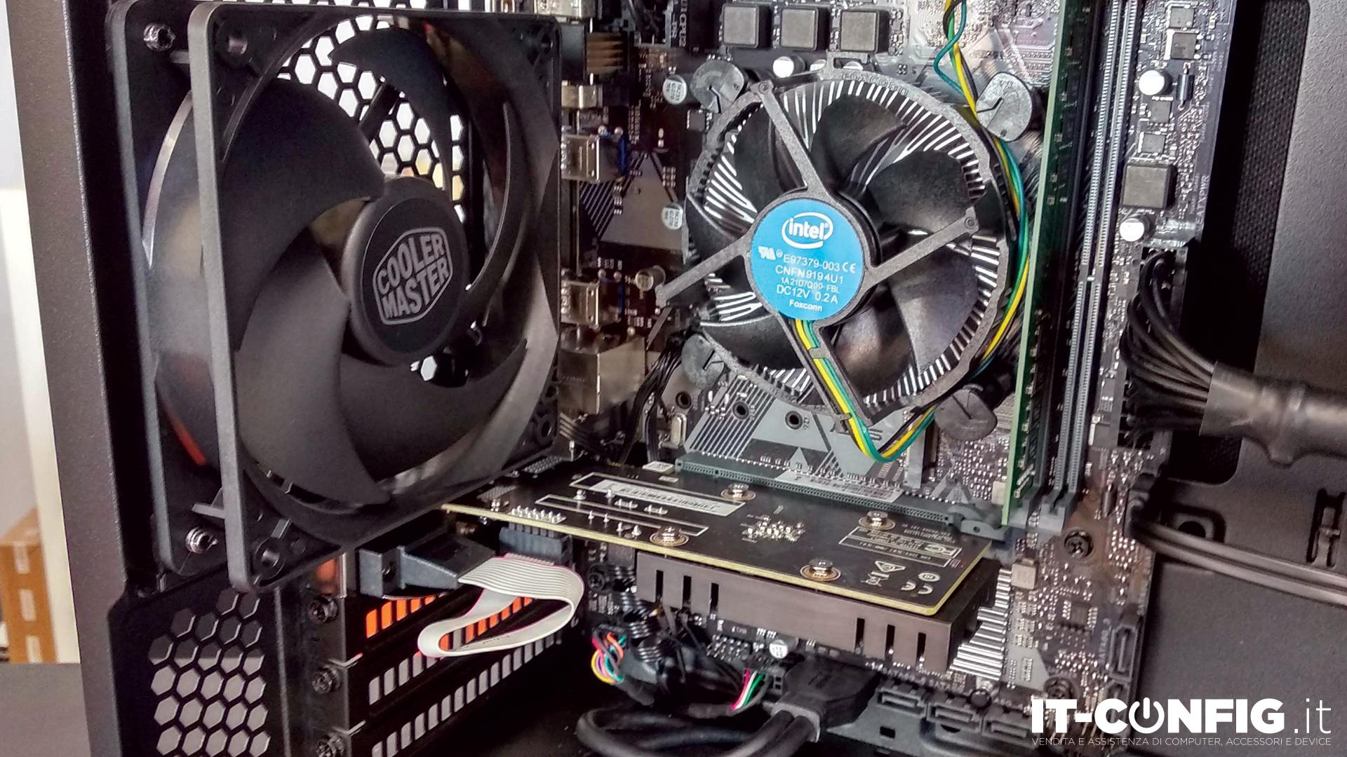 Office Silent PC i5-9400F-8GB-240GB-GT710